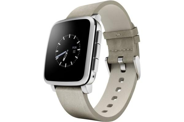 An in depth review of the Pebble Time Steel