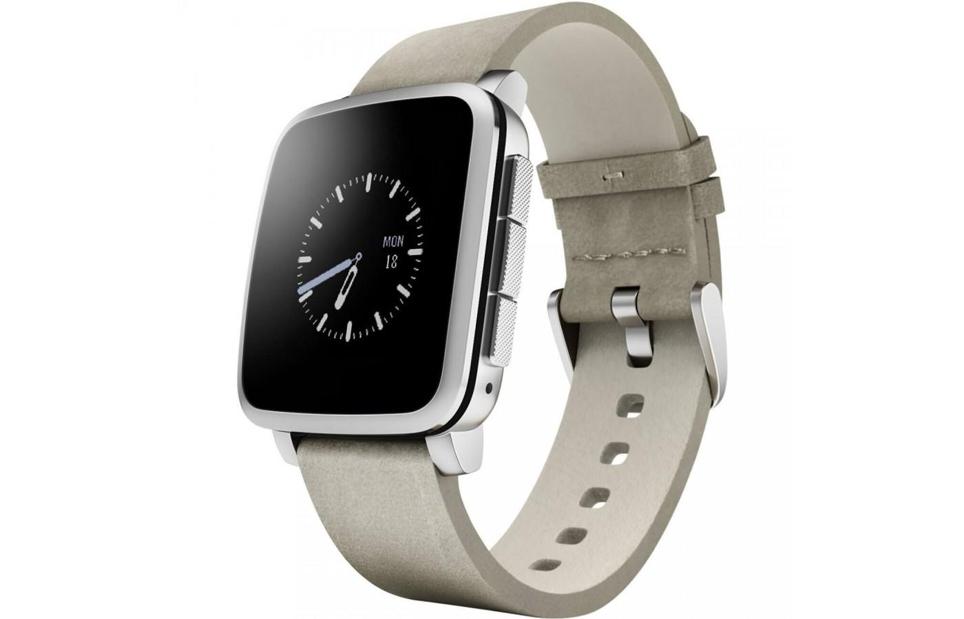 Pebble Time Steel - an attractive smartwatch option
