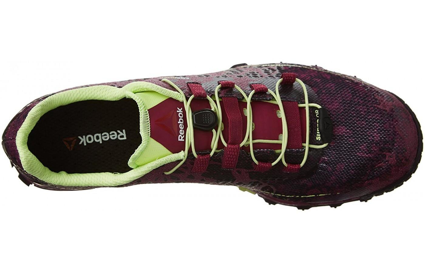 Here is Reebok All Terrain Super's lacing system and upper