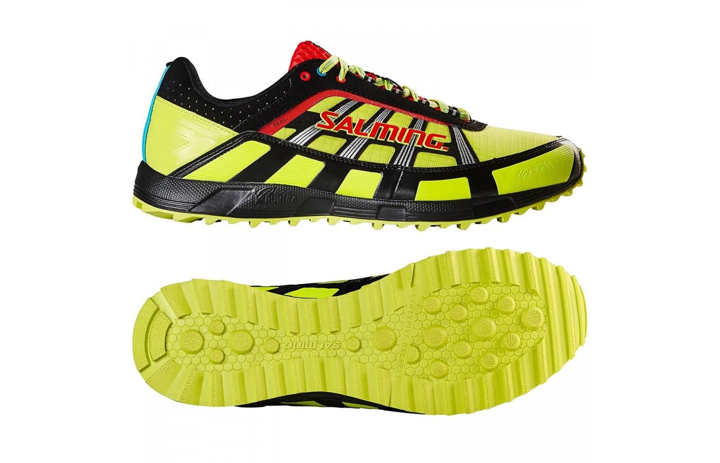 The stylish colors and lugged outsole are two of many great features about this shoe.
