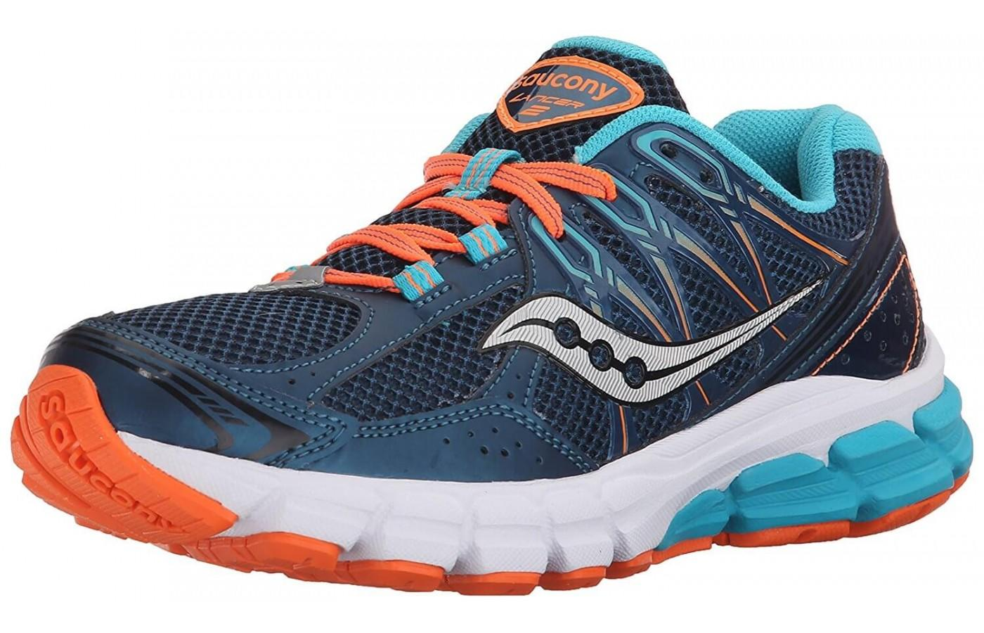 Saucony Lancer 2 is a lightweight neutral shoe
