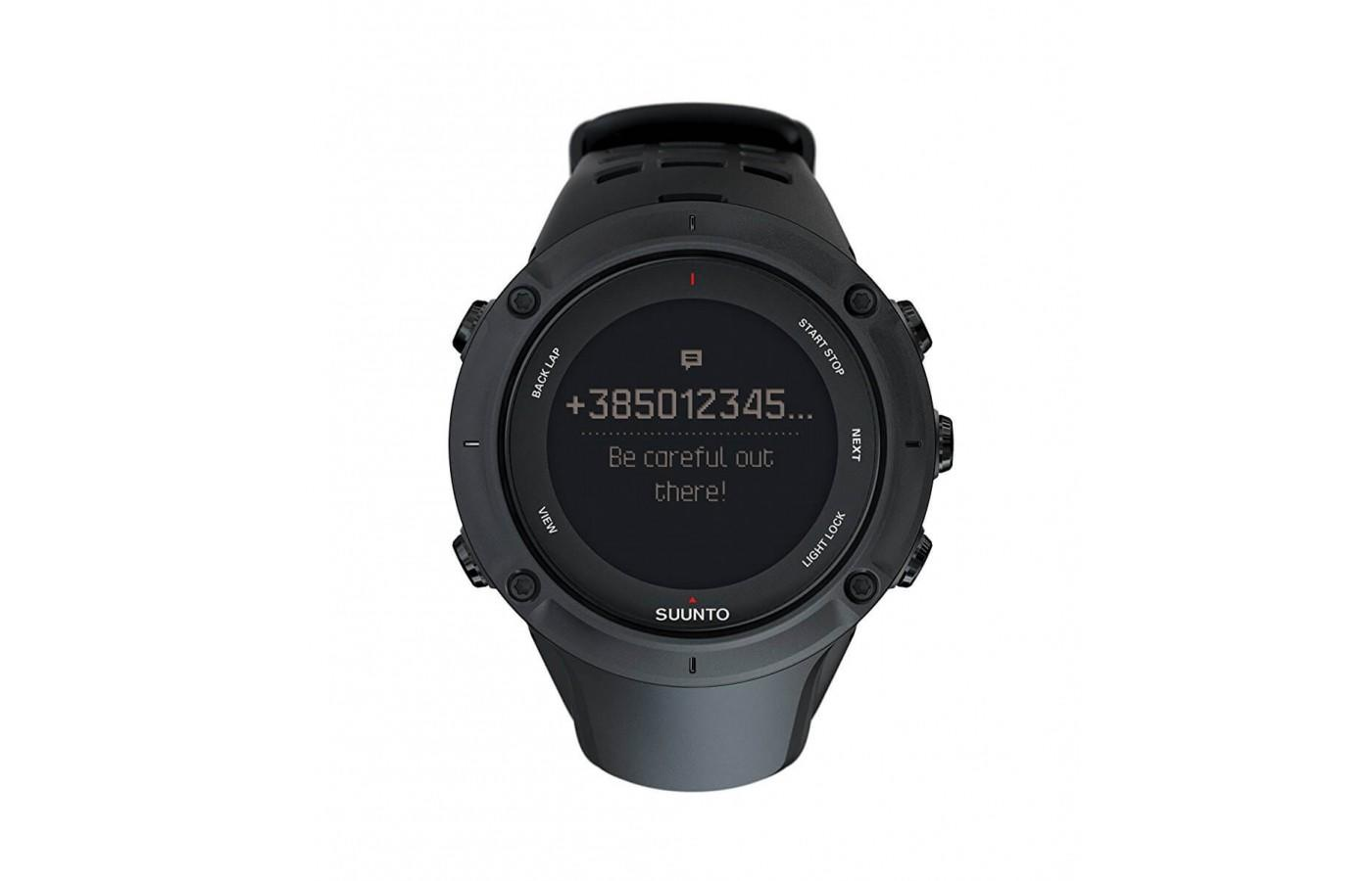 Suunto Ambit3 Peak helps the user navigate back through their course