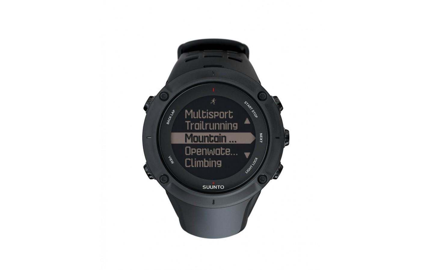 Suunto Ambit3 Peak is a great watch for the outdoor enthusiast