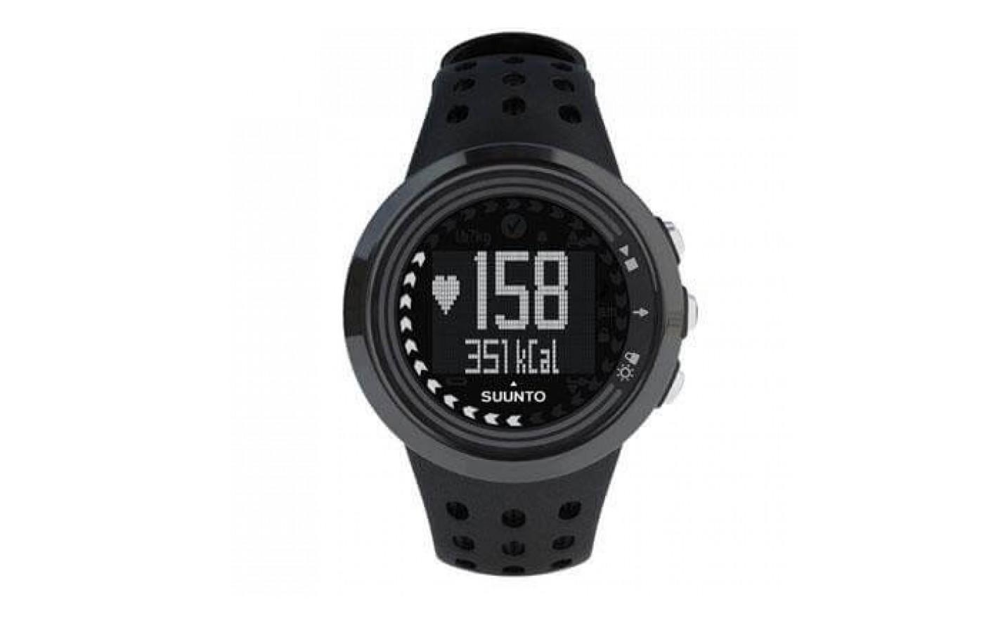 Suunto M5 has a sleek, simple design