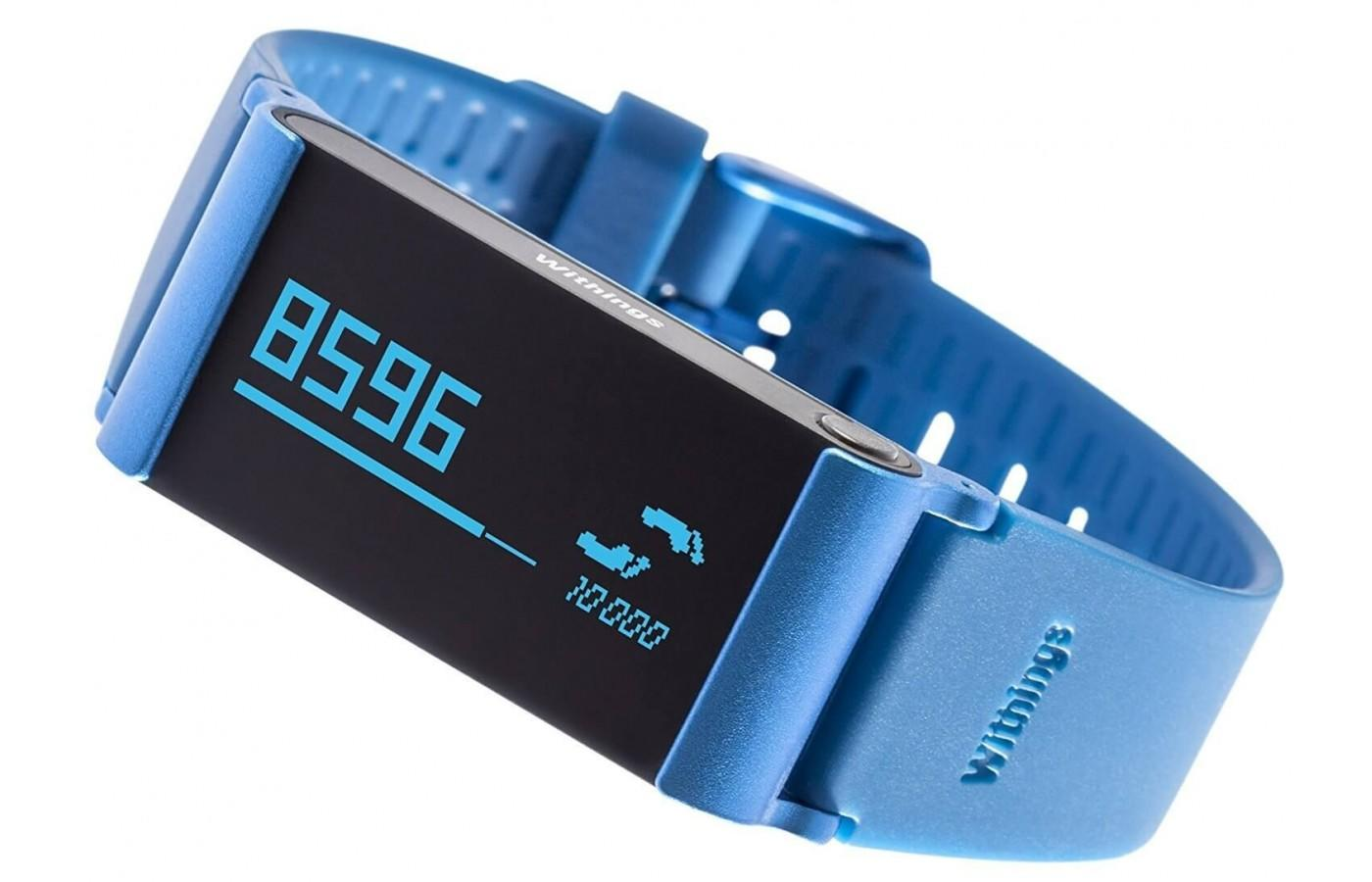 The Withings Pulse Ox comes in black and blue as well as leather