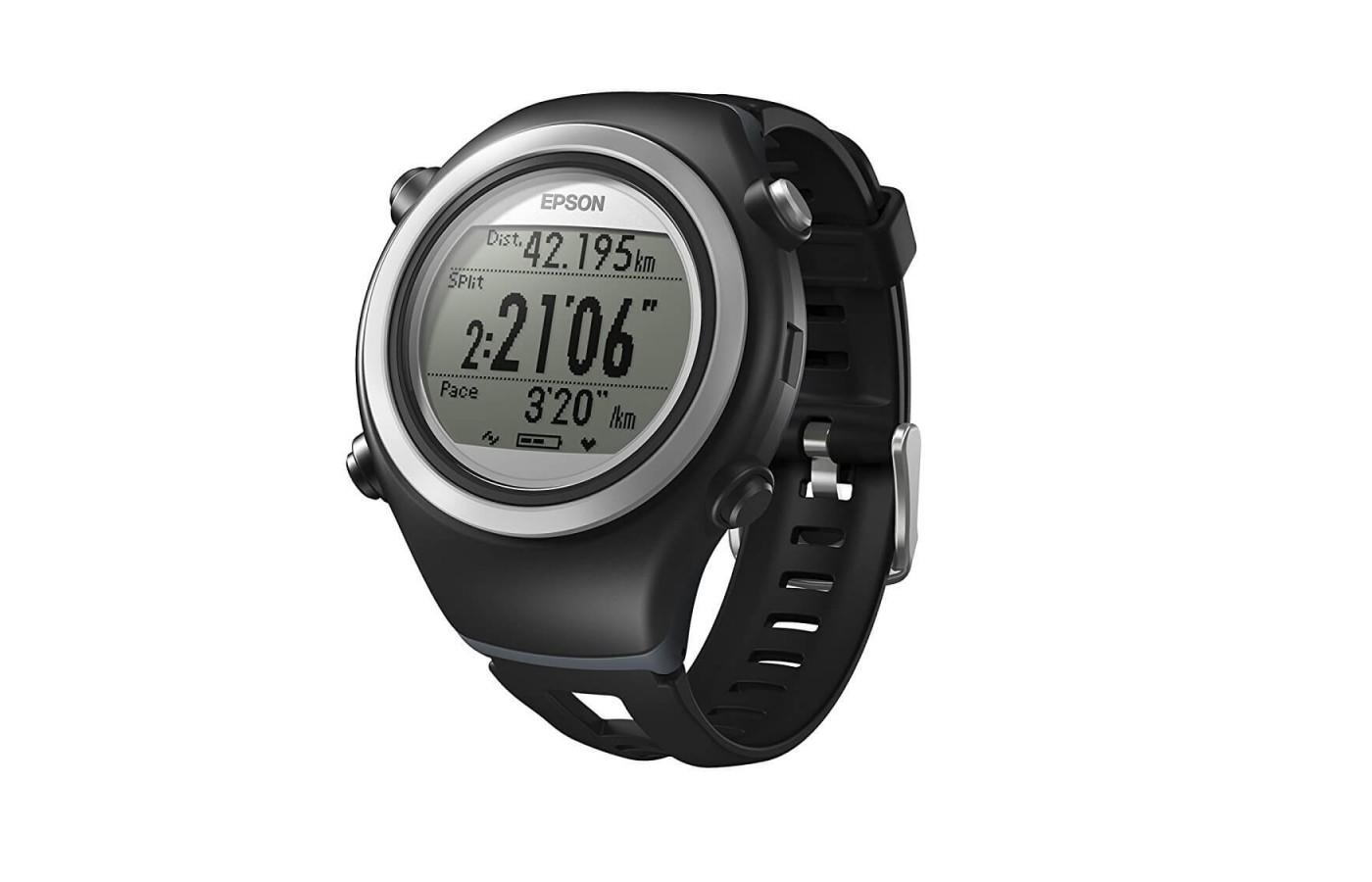Epson Runsense SF-510 is a comprehensive running watch