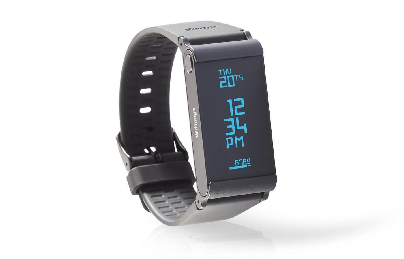 It features a heart rate monitor and also checks blood oxygen levels