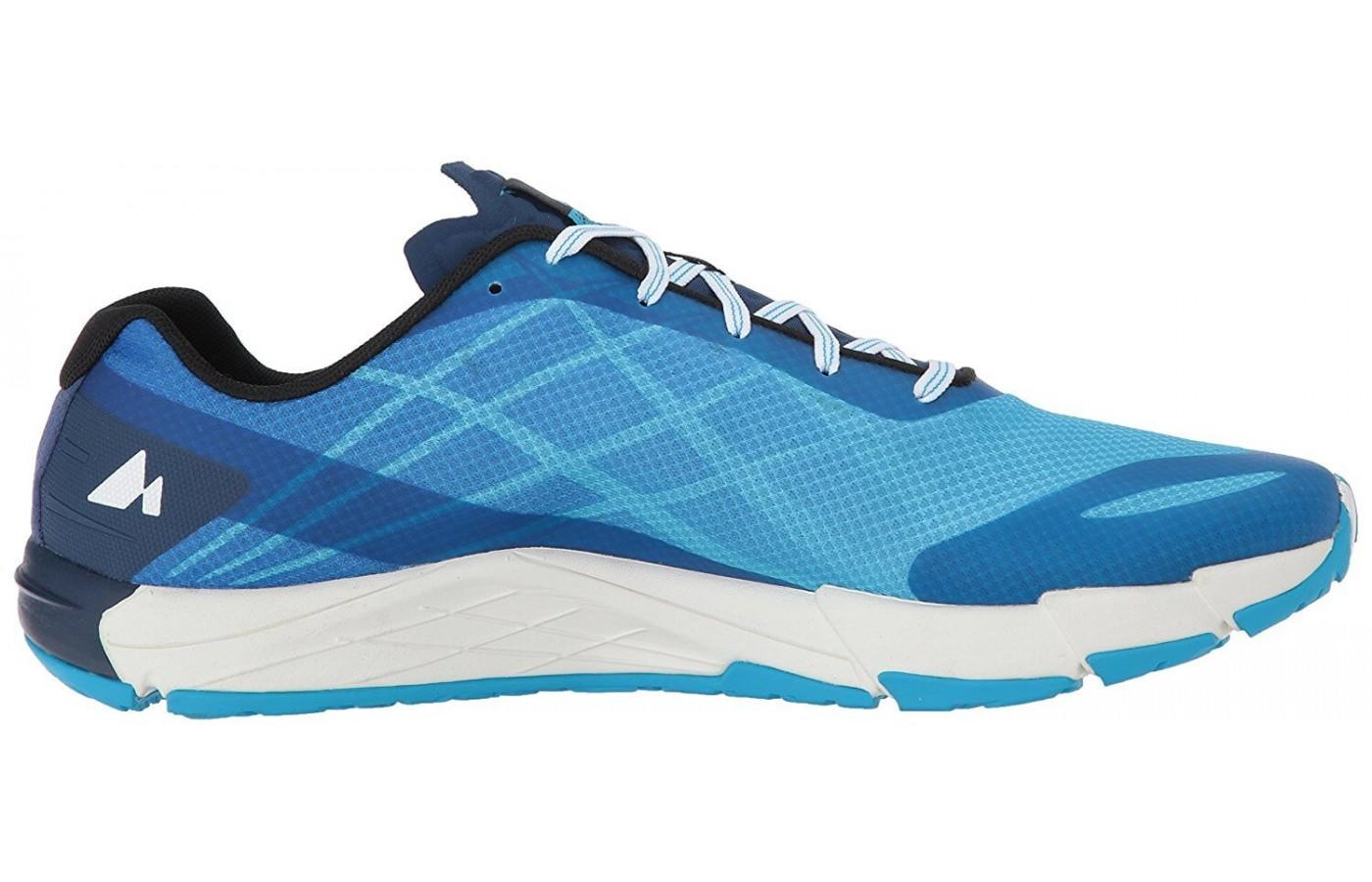 The lightweight, zero drop shoe is great for speed work.