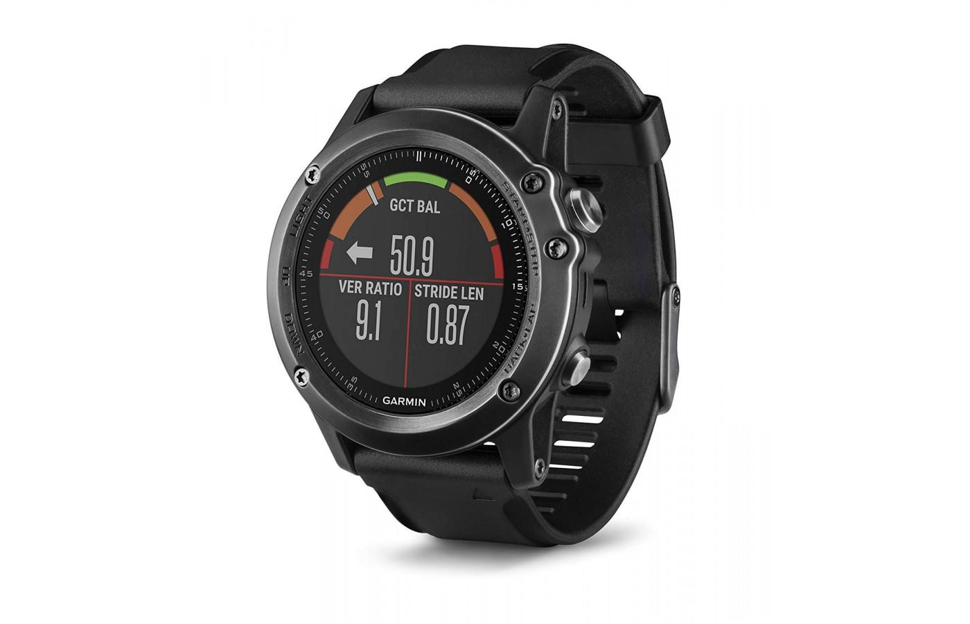 The Fenix 3 Sapphire will track a variety of activities