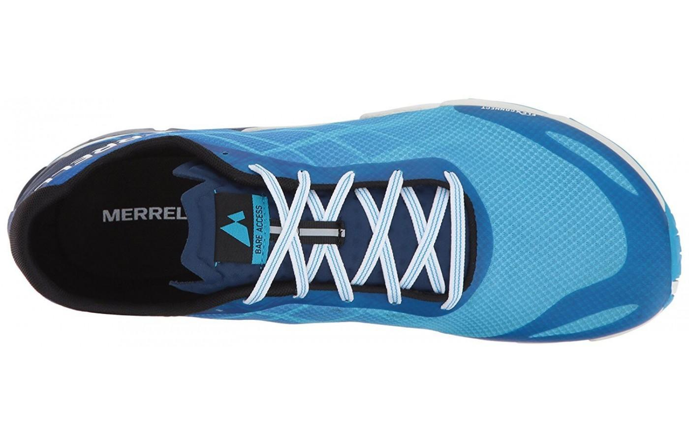 The upper of the Bare Access Flex is breathable and comfortable
