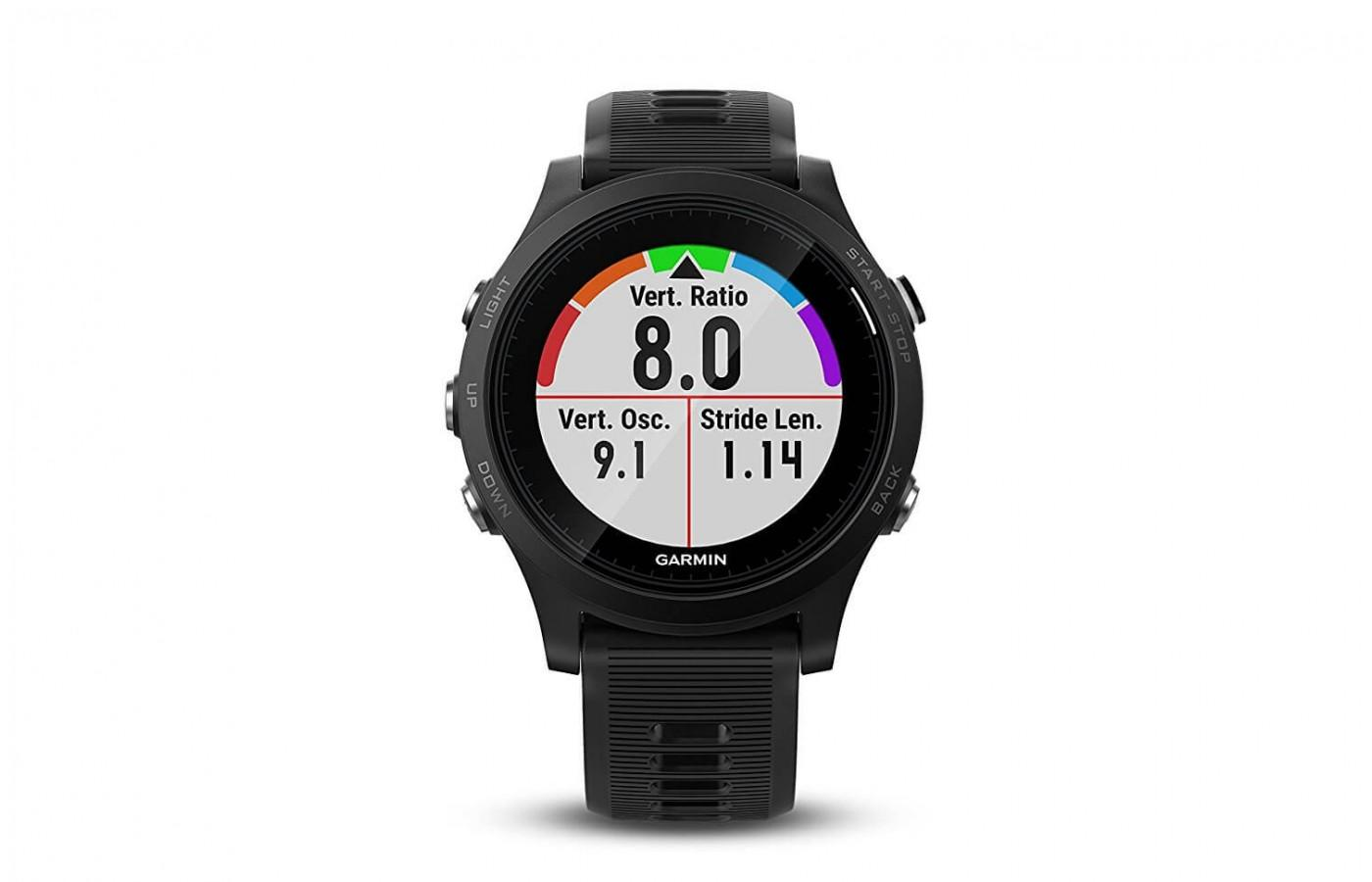 Garmin Forerunner 935 showcases a sunlight-visible color screen