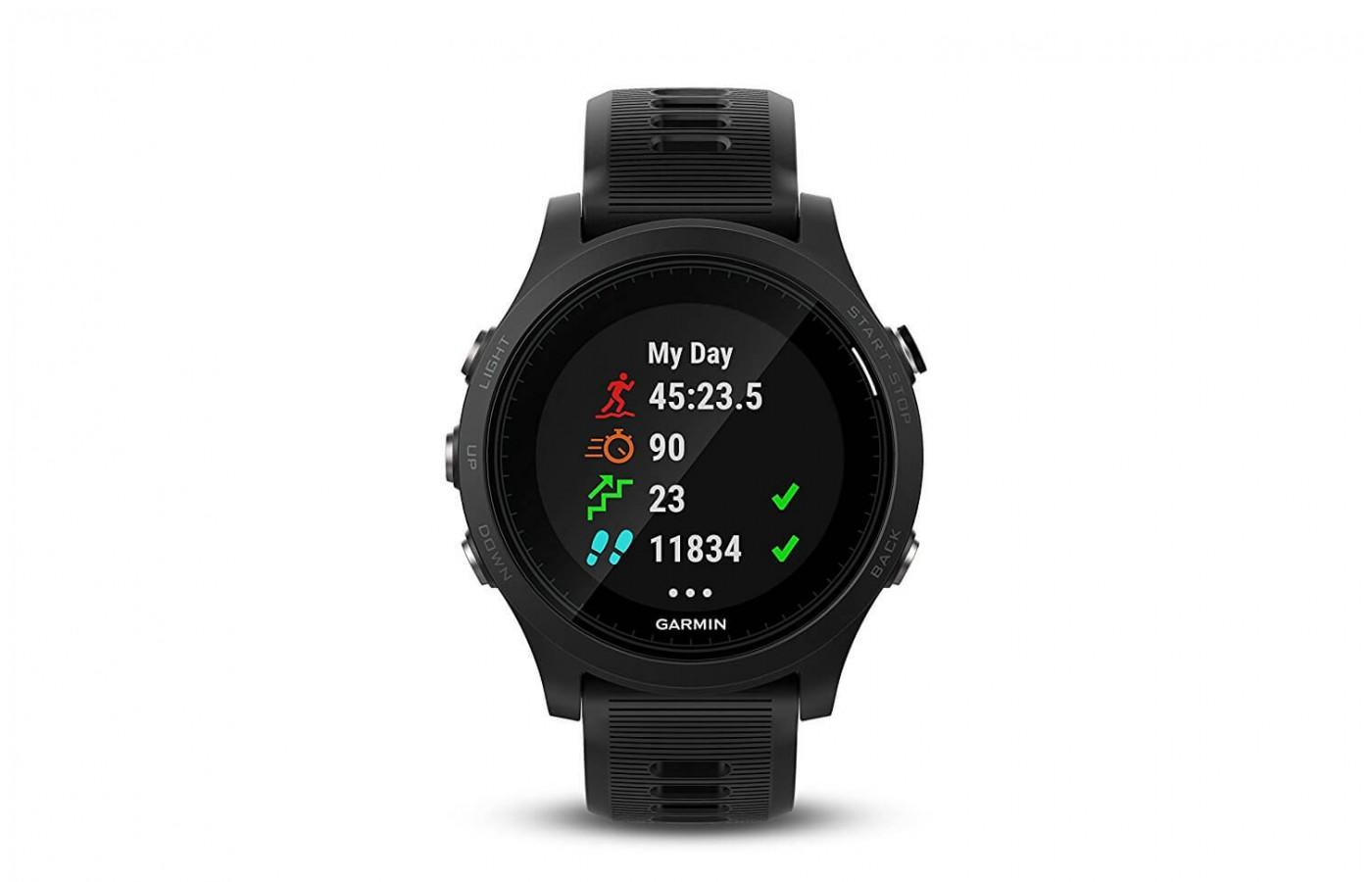 The 935 offers daily activity tracking