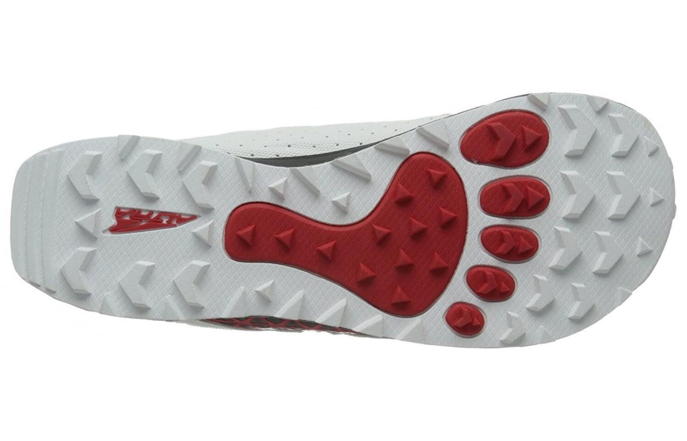 Altra Lone Peak 1.5 has a very grippy outsole