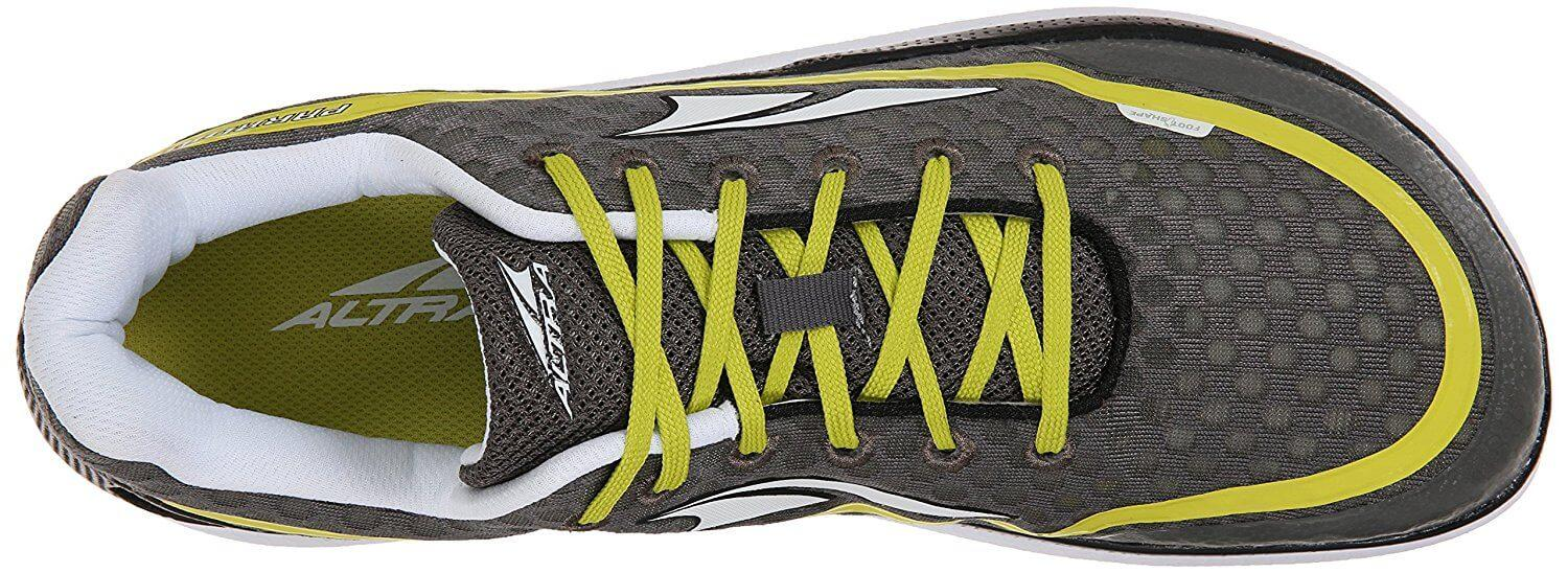 The breathable mesh upper is quick drying and allows for water drainage