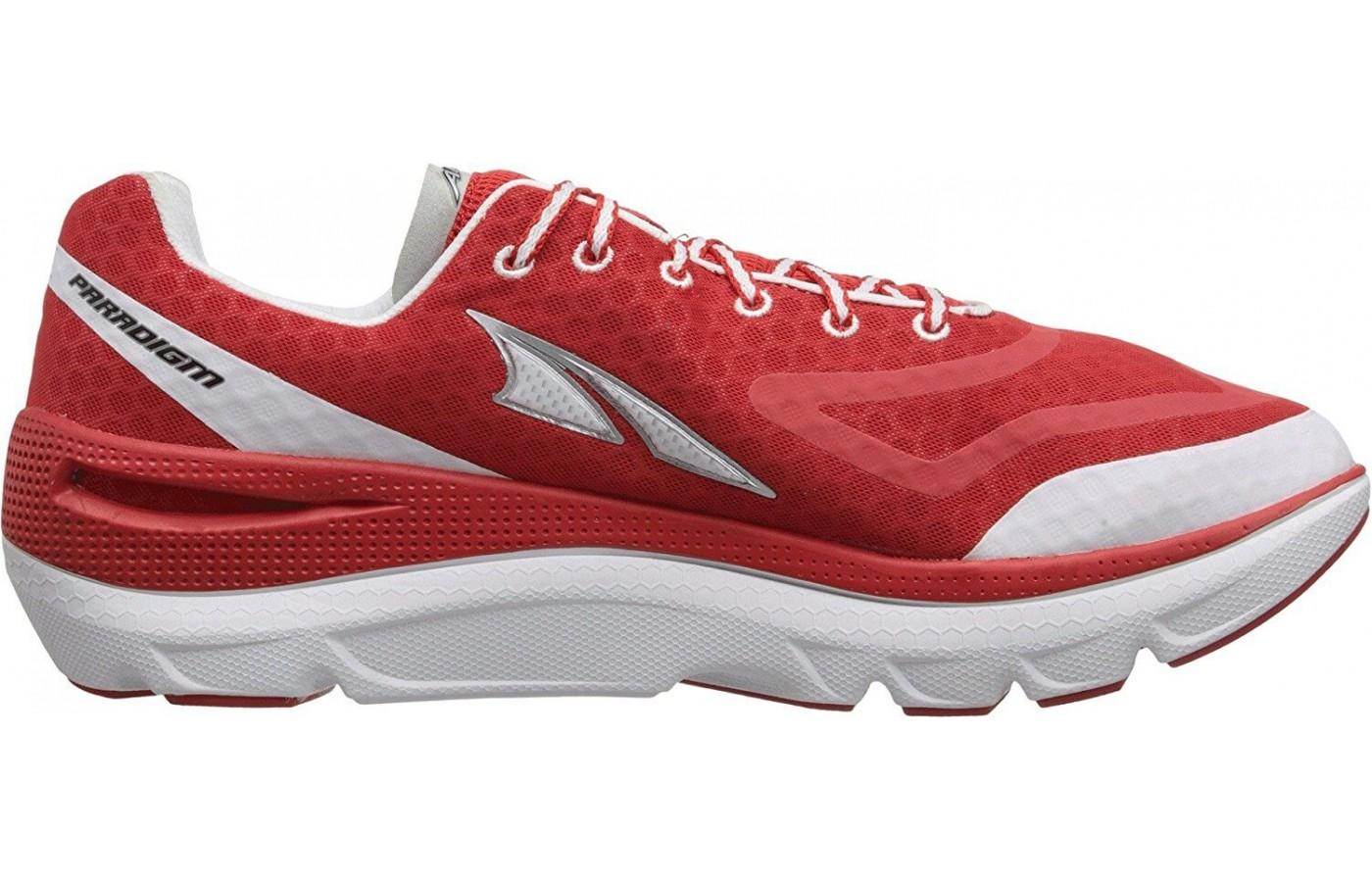 the right side of the Altra Paradigm