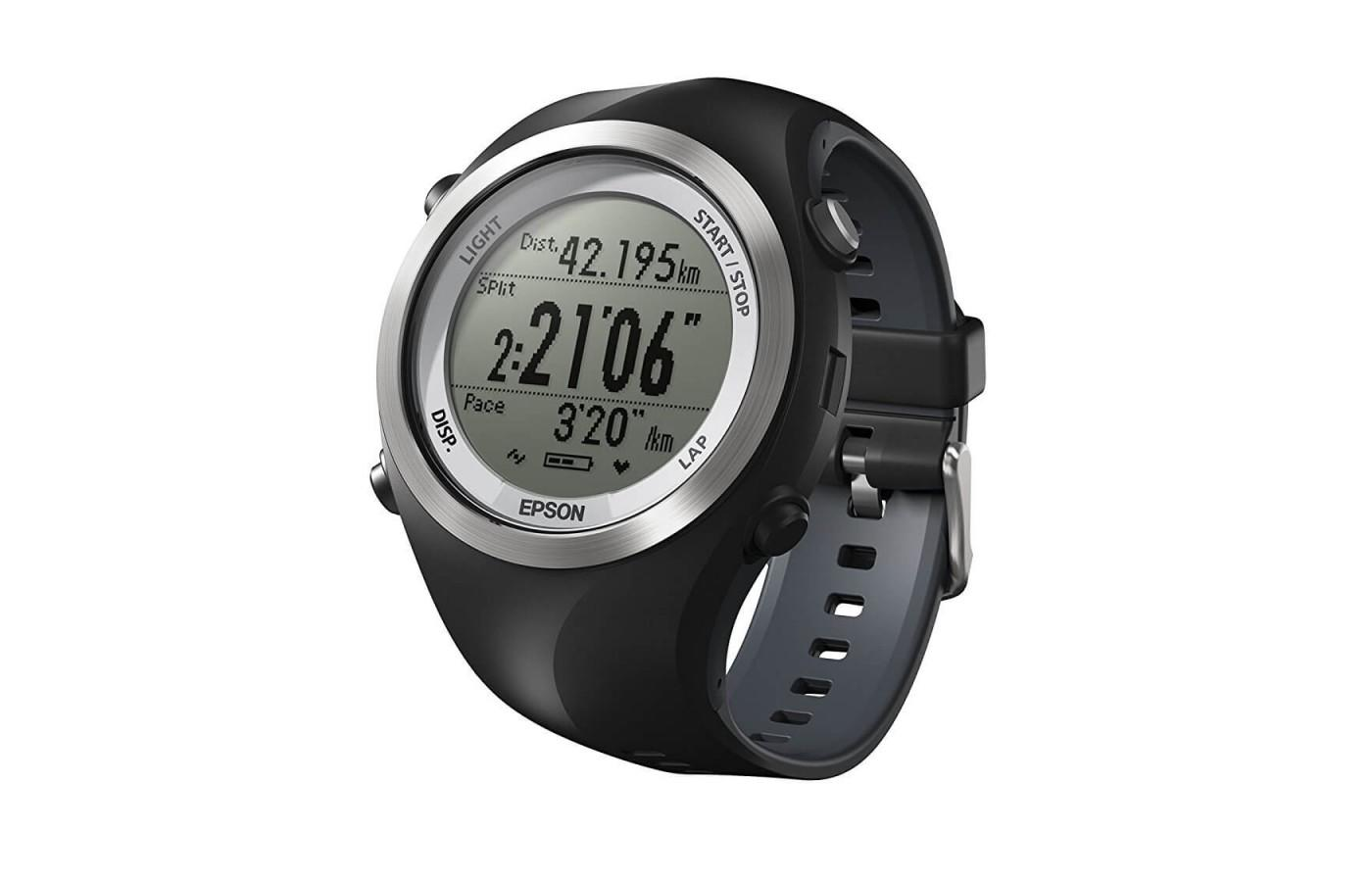 the Epson Runsense SF-710 is a straightforward activity tracker
