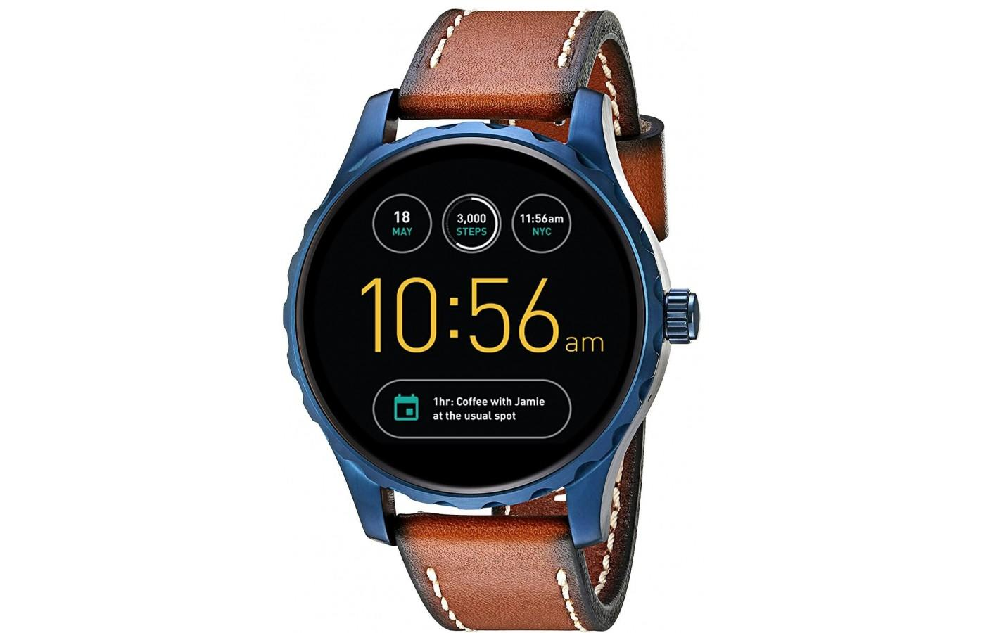 Q Marshal version of the Fossil Gen 2 Smartwatch