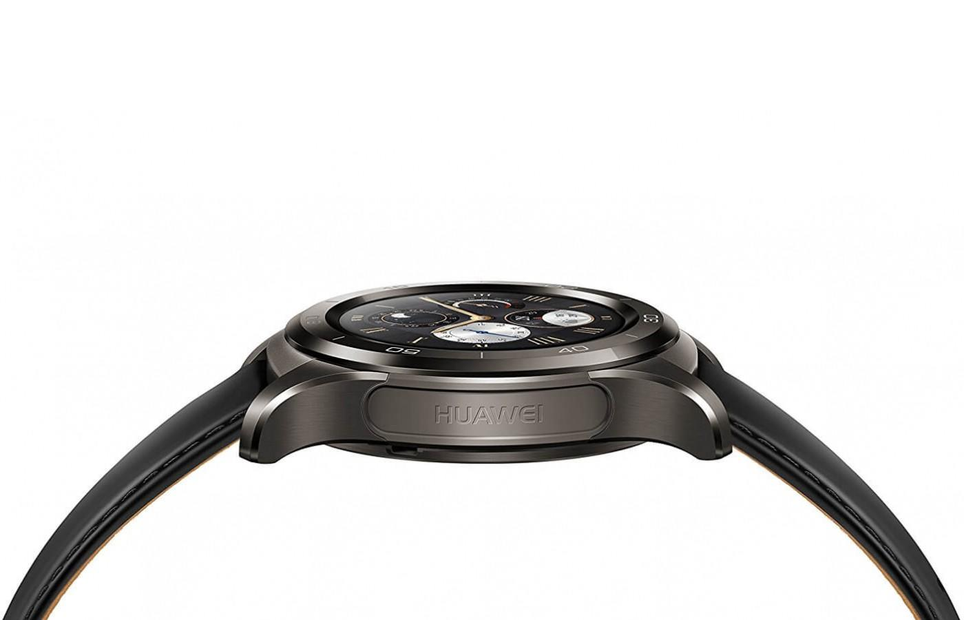 The Huawei Watch 2 Classic has a two-layer strap