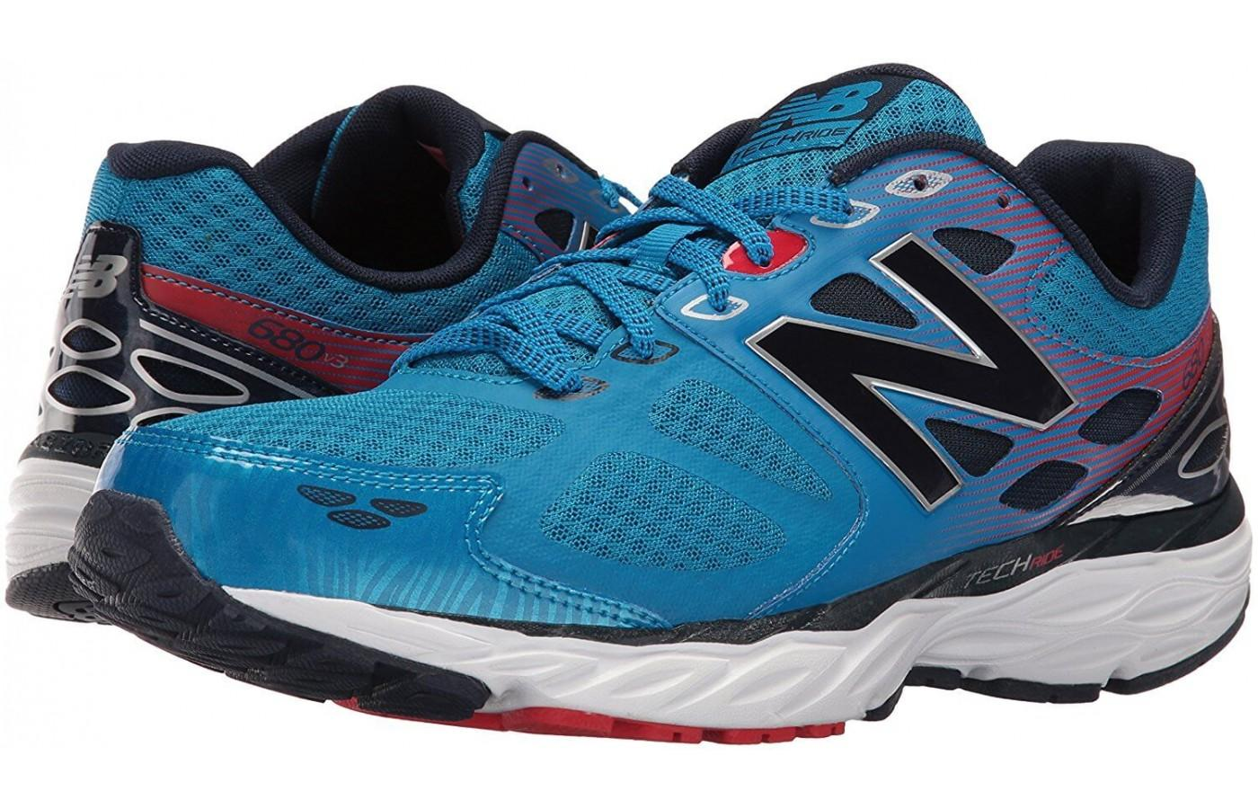 the New Balance 680 v3 is an affordable stability shoe