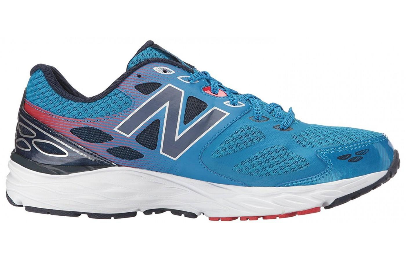 the New Balance 680 v3 is a stylish, colorful trainer