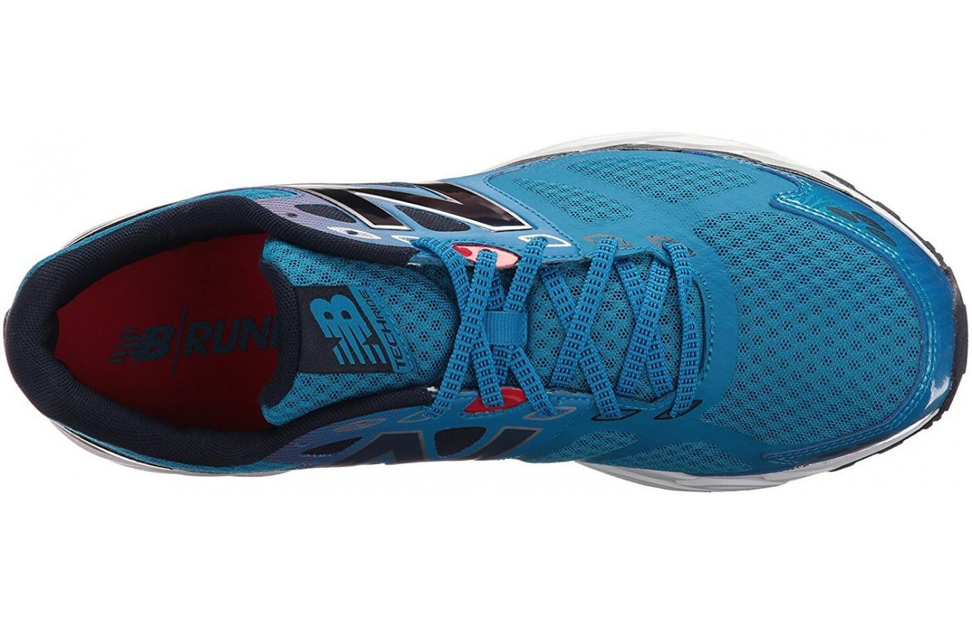 the New Balance 680 v3 offers a secure and protected ride