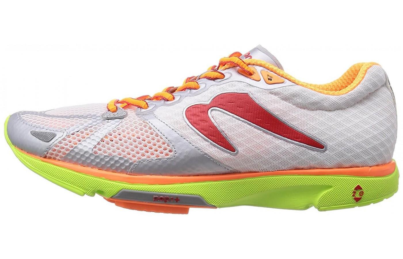 Newton Distance S IV features a breathable mesh upper