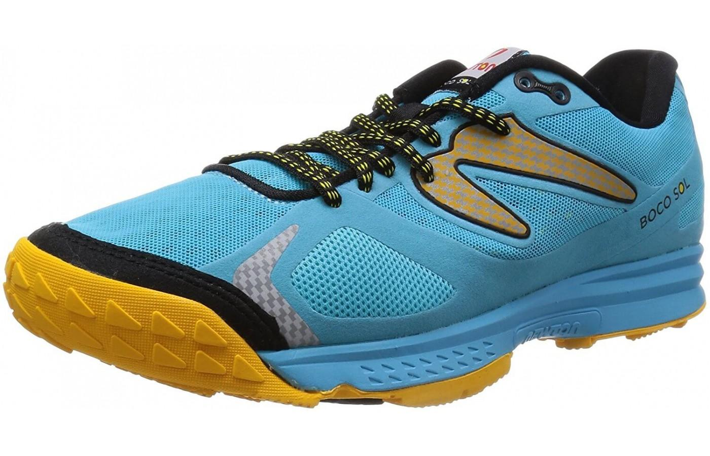 the Newton BoCo Sol is a dynamic trail shoe