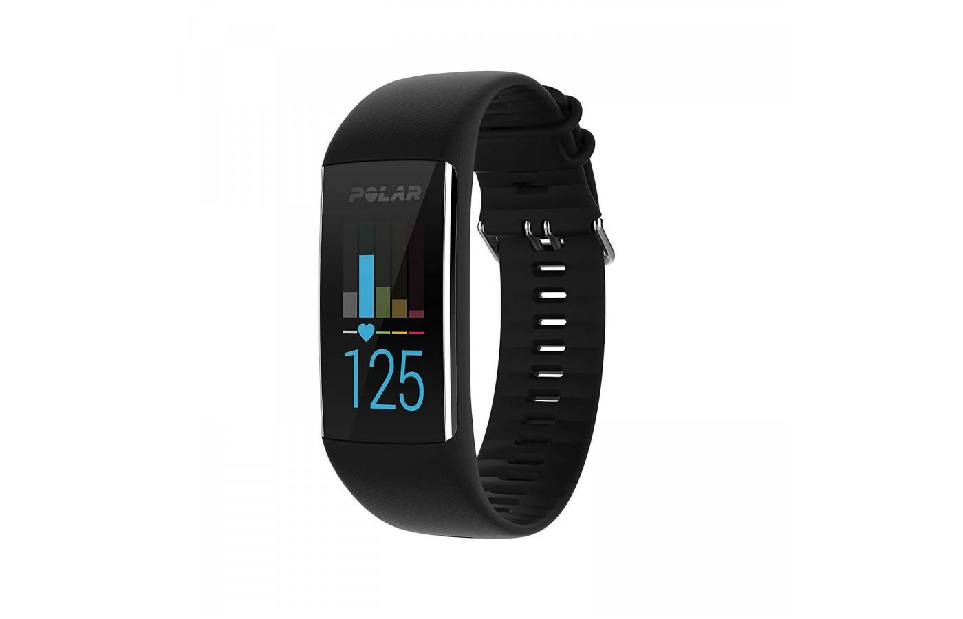 Polar A370 is also available in a black band