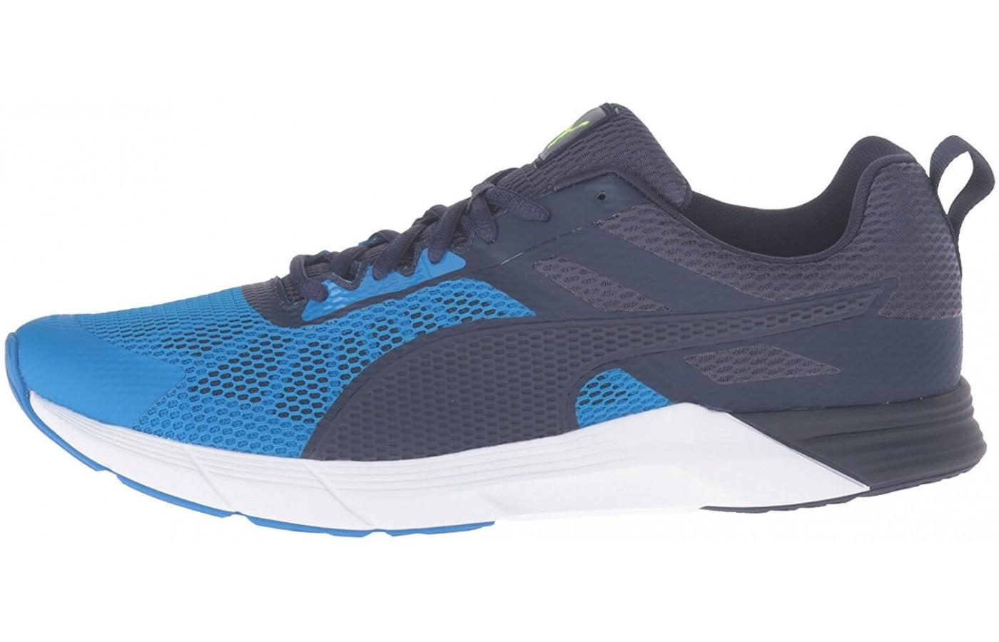 the Puma Propel has two layers of mesh