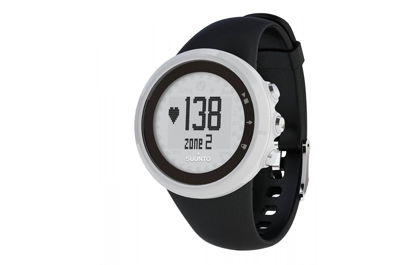 Suunto M1 displays HR zones