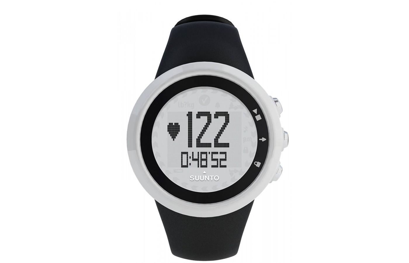 Suunto M1 provides HR data