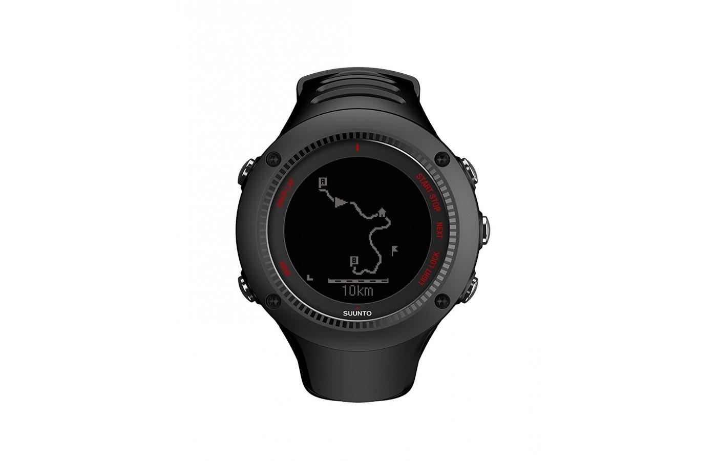 the Suunto Ambit3 Run features a highly accurate built-in GPS