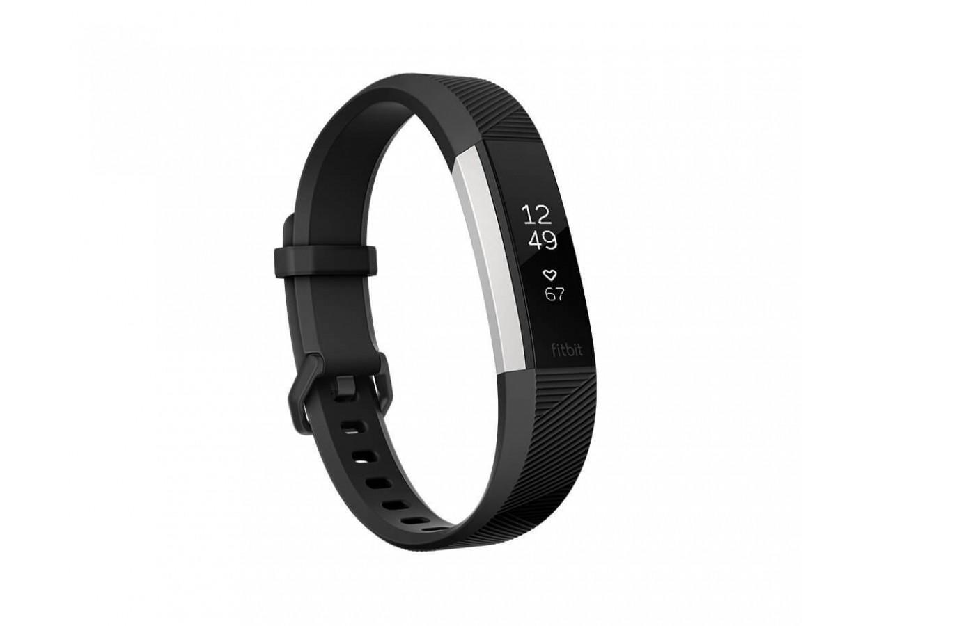 The Fitbit Alta HR has a sleek design