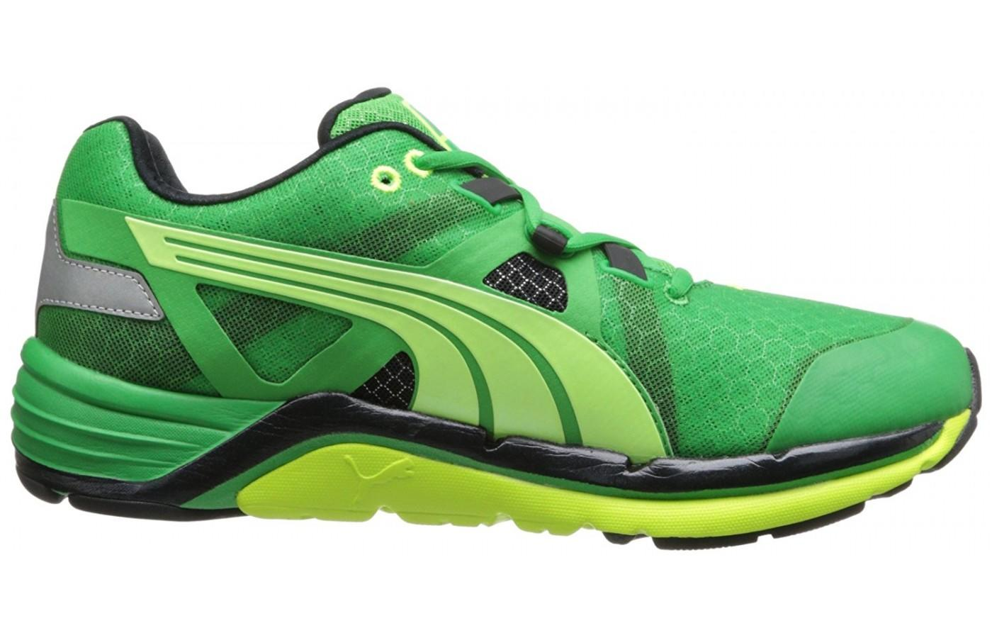 Side profile of the Puma Faas 1000