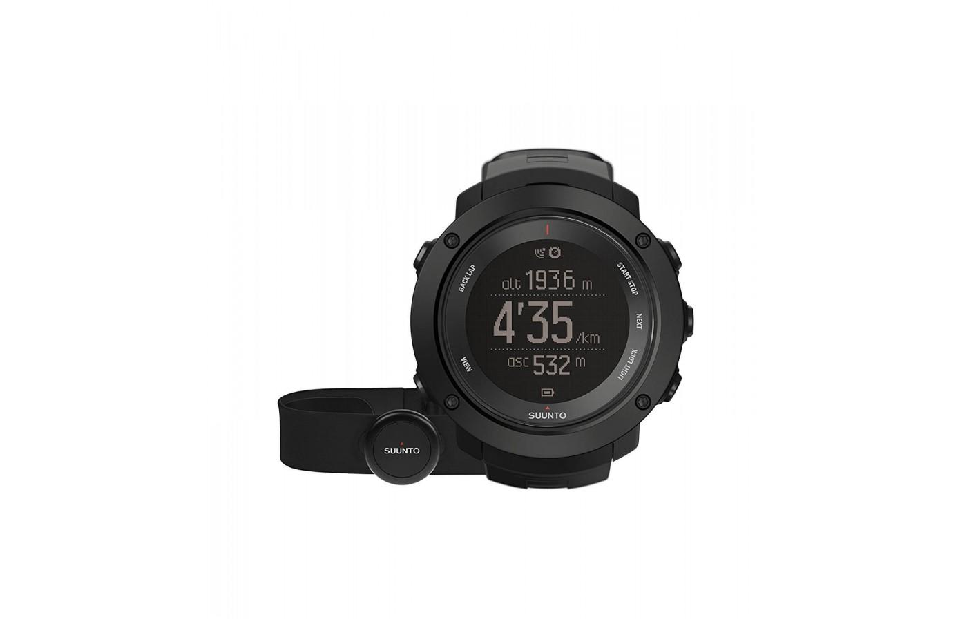 Suunto Ambit3 Vertical comes with a HR sensor