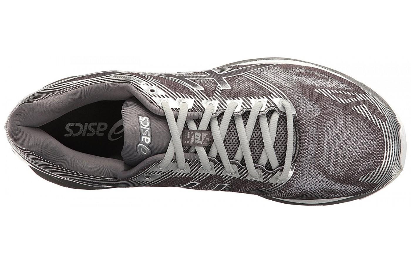0c09e174b9fc9 The updated upper of the ASICS Gel Nimbus 19 gives runners a glove-like fit  ...