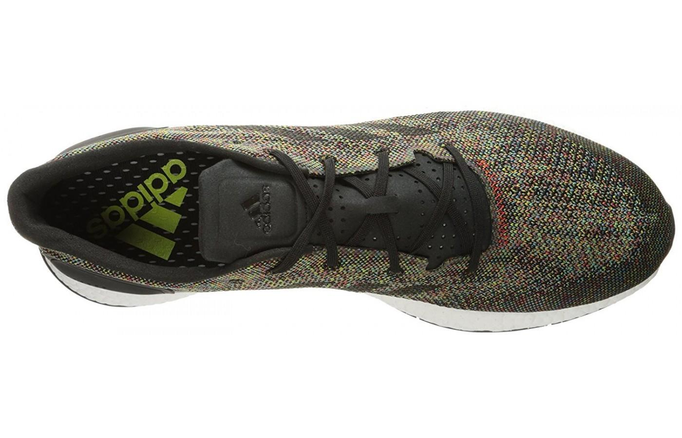 Adidas PureBOOST DPR LTD has a breathable mesh upper