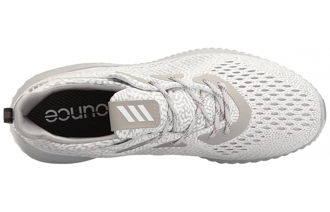 Adidas Alphabounce AMS features removable insoles