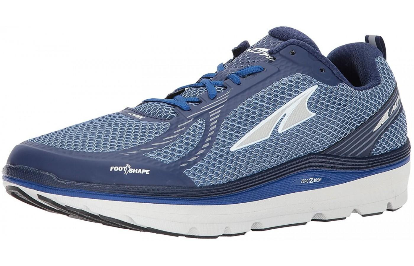 The Altra Paradigm 3.0 shown from the front/side