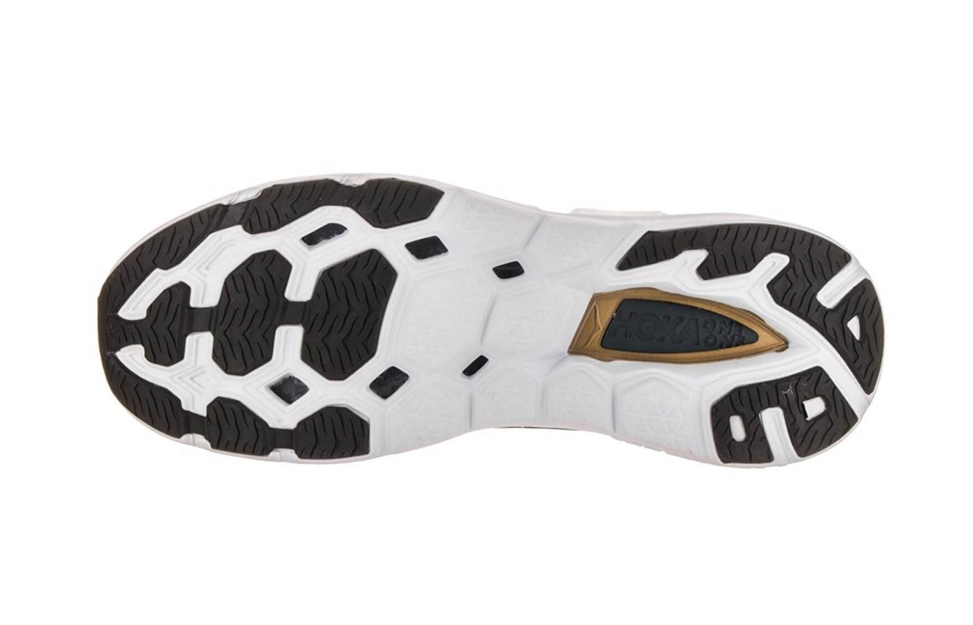 here's a look at the outsole of the vanquish 3
