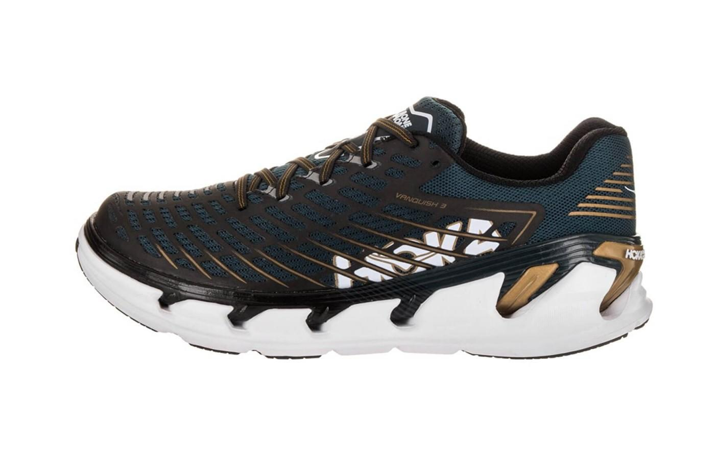 The Hoka One One Vanquish 3 offers plenty of that marshmallow cushioning