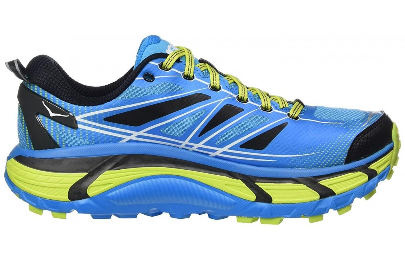 Hoka One One Mafate Speed 2 has a super thick midsole