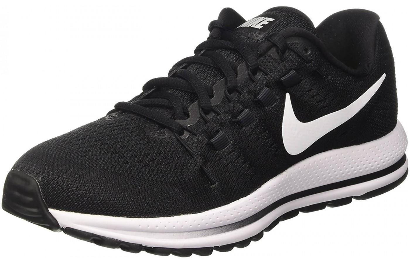 low priced 74e3c 7c4ba The Nike Air Zoom Vomero 12 shown from the front side ...