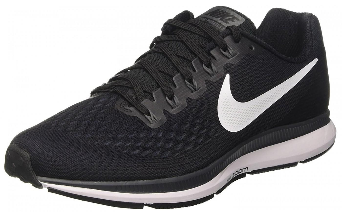 best website 14561 506a7 the upper of the Nike Air Zoom Pegasus 34 is made of breathable Flymesh ...
