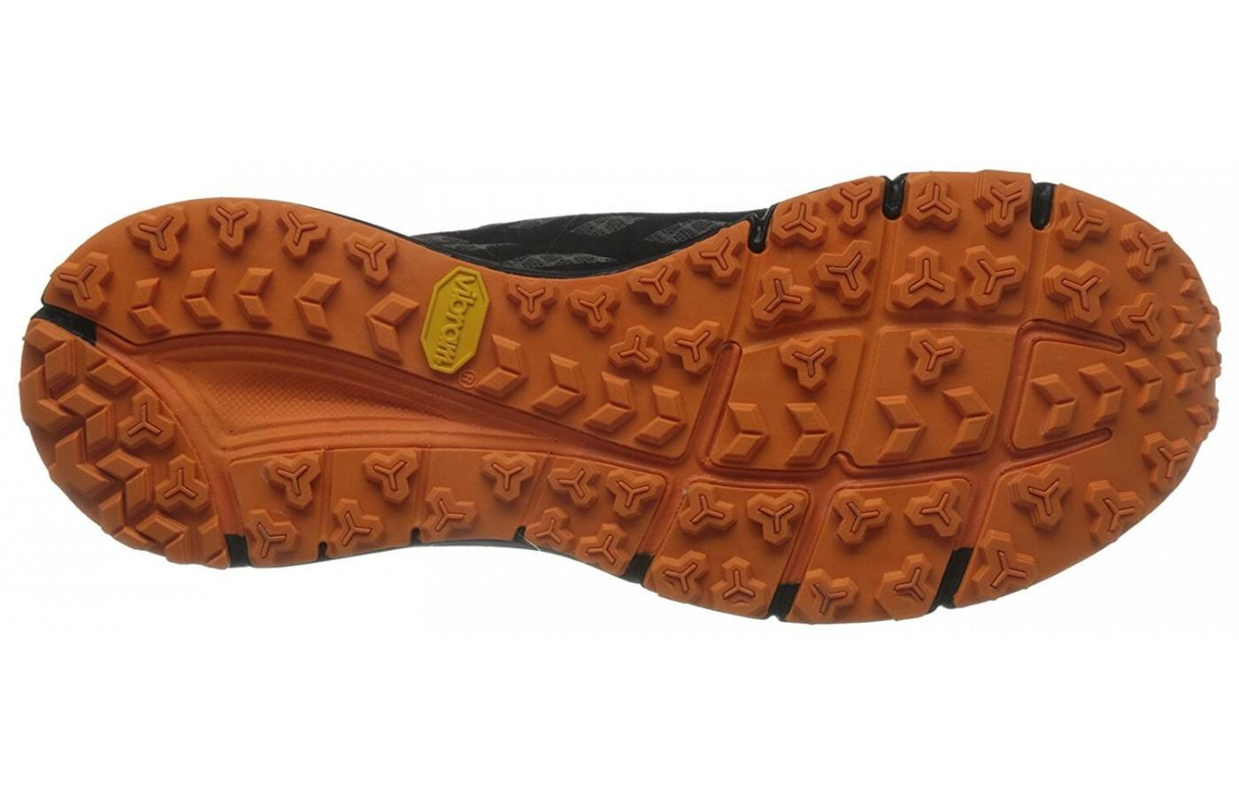 The North Face Endurus TR offers tenacious 3.5mm lugs for excellent traction and grip