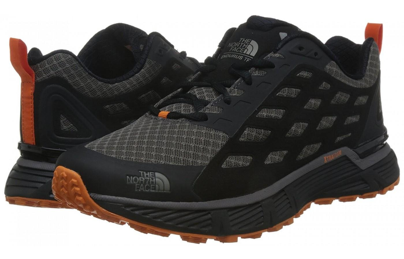 a pair of The North Face Endurus TR are durable and comfortable, lasting a long time after first step-in
