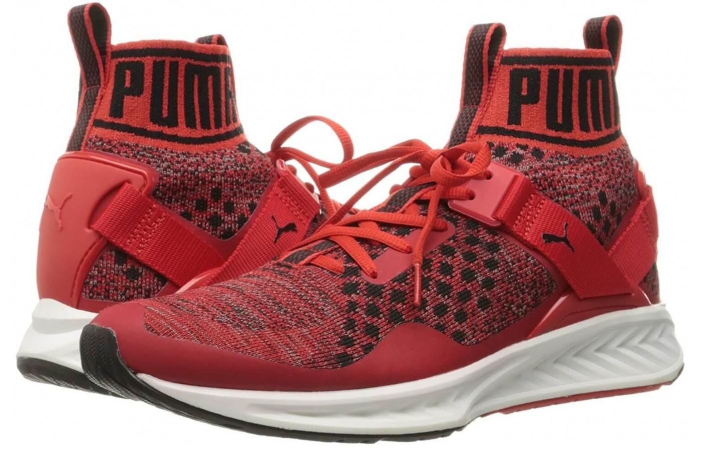 the Puma Ignite evoKnit has a retro style to their design