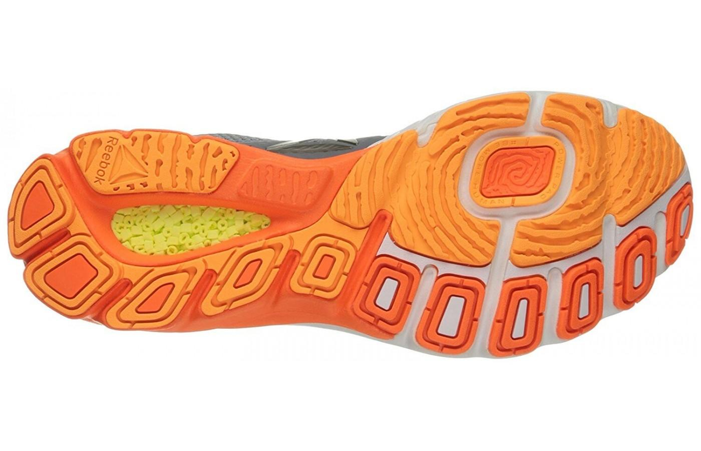 c22601197b6e5c ... the unique outsole of the Reebok Harmony Road is durable and offers a  great amount of ...