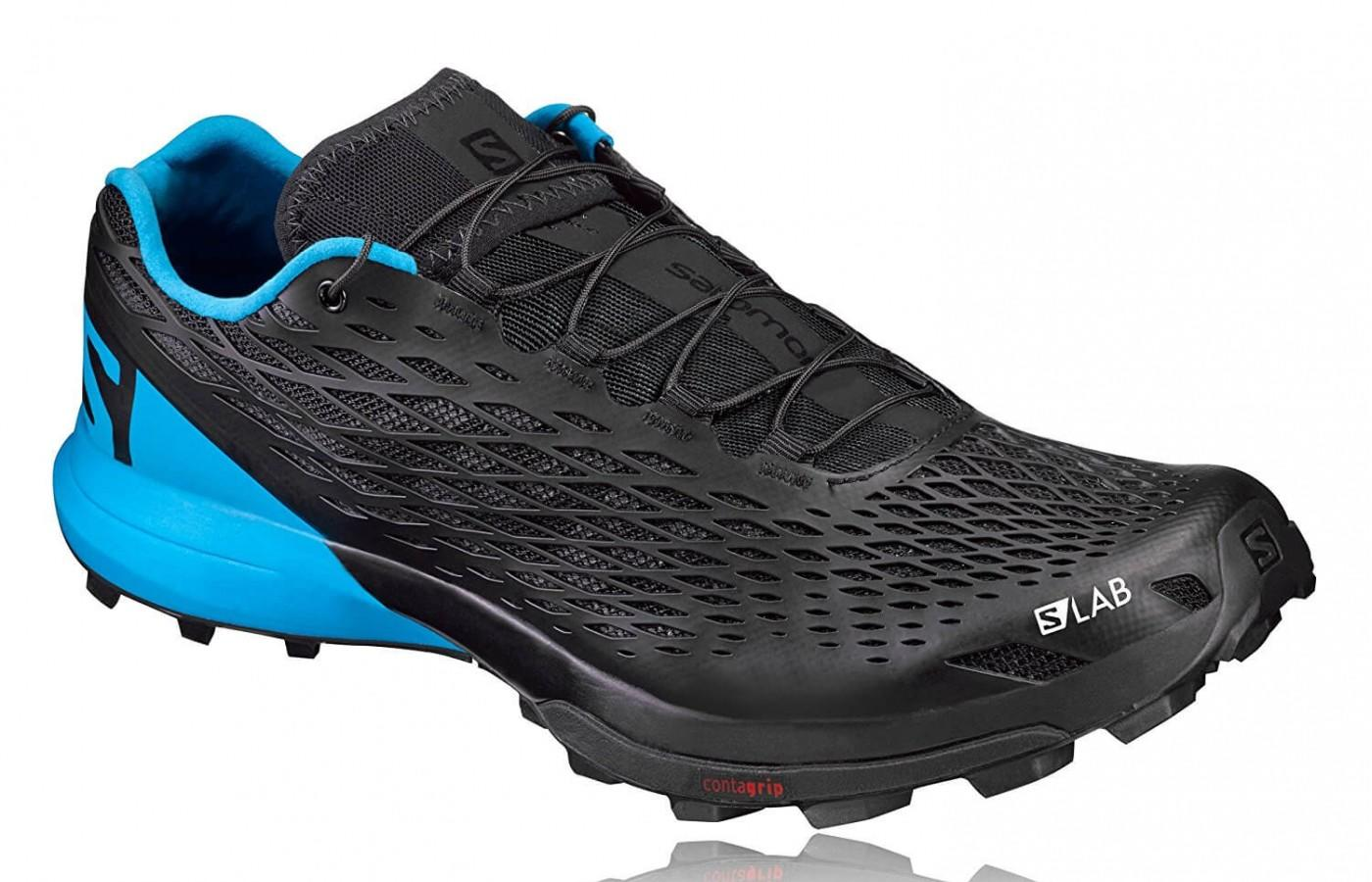 the Salomon S-Lab Xa Amphib shown from the front/side