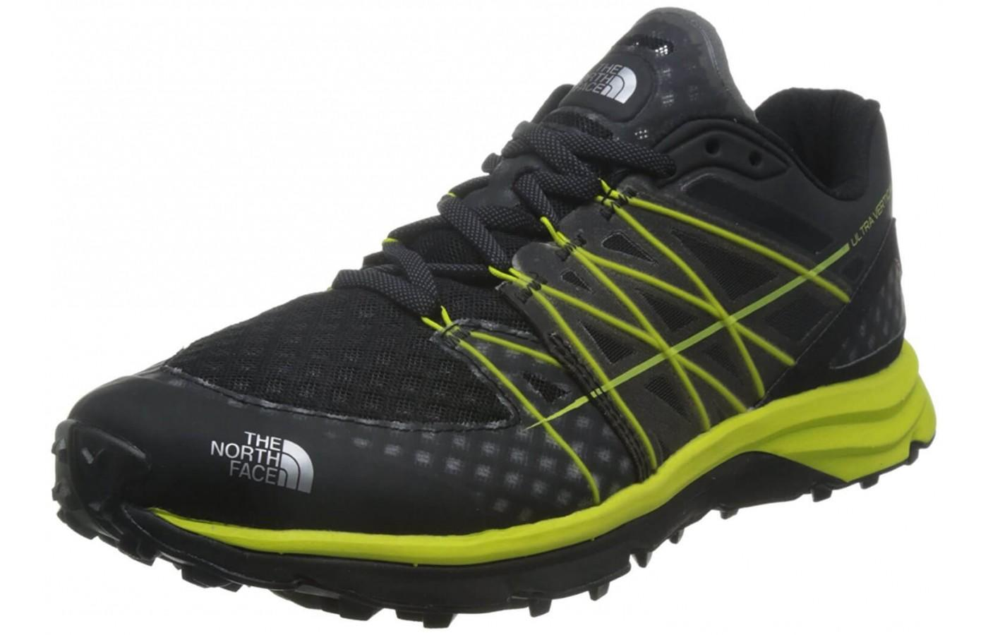 The North Face Ultra Vertical shown from the front/side